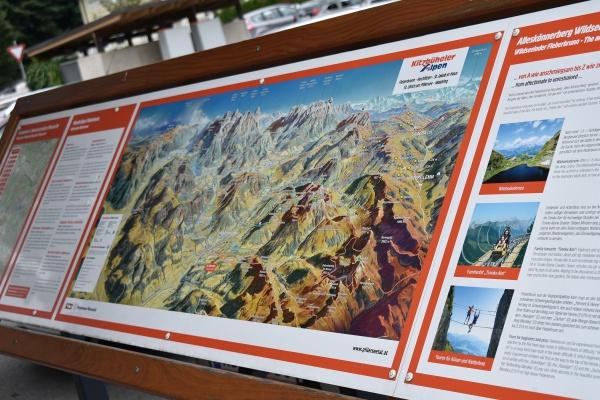 Karte Kitzbüheler Alpen