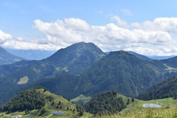 Bergblick vom Lärchfilzkogel