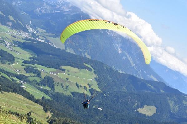 Paraglider gestartet