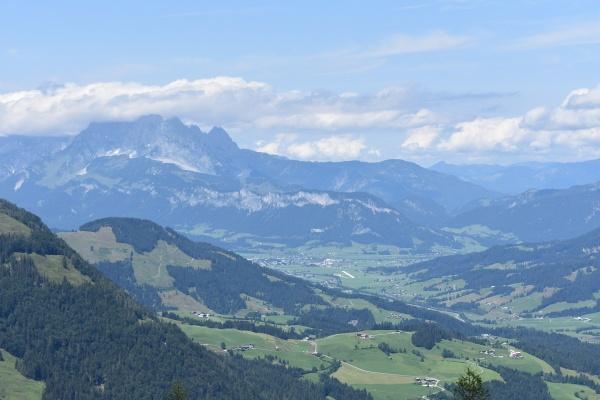 Blick nach St. Johann i.T.